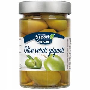 Giant Green Olives Al Naturale