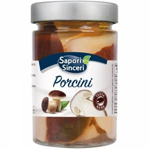 "Chopped Porcini ""Testa Nera"" Mushrooms in Olive Oil"